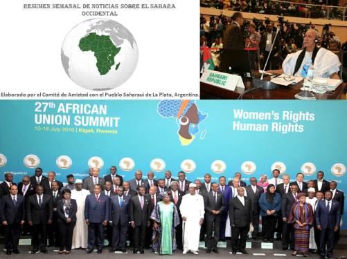 Resumen XXVII Cumbre UA
