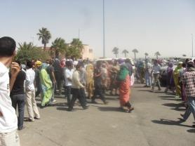 Resultado de imagen para represion marroqui en dajla
