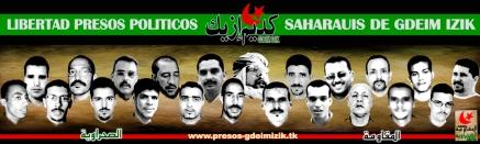 Resultado de imagen para presos politicos gdeim izik